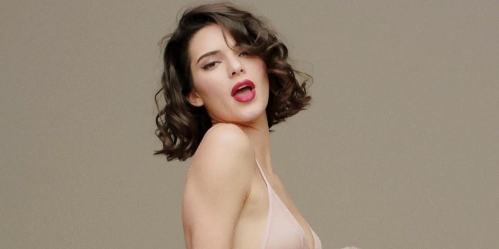 Kendall Jenner evocó a Marilyn Monroe