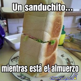 sanduchito exagerado