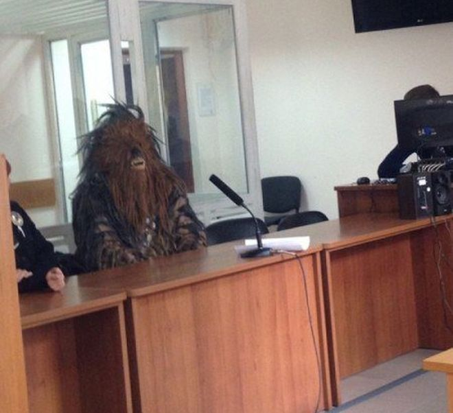 Chewbacca arrestado