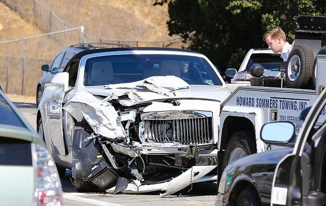 Fotos del accidente de Kris Jenner