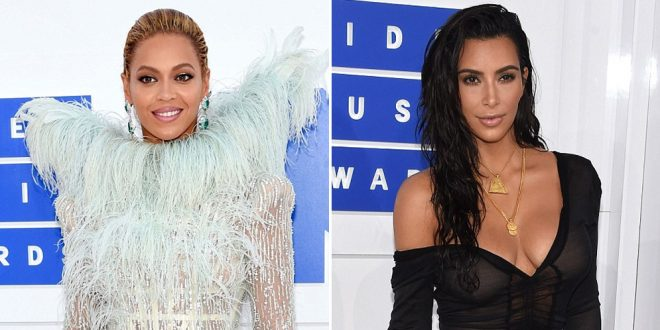 Beyoncé y Kim Kardashian dominaron la alfombra roja en los Premios MTV Video Music Awards 2016